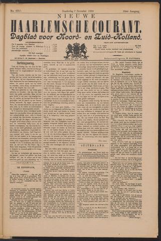 Nieuwe Haarlemsche Courant 1899-12-07