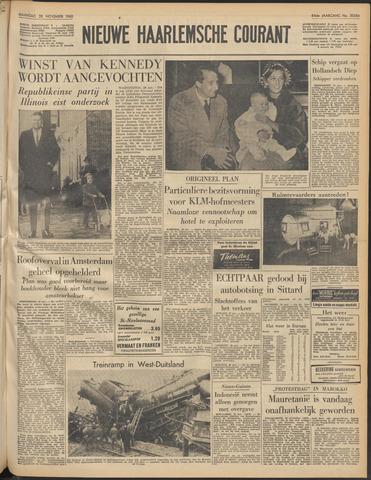 Nieuwe Haarlemsche Courant 1960-11-28