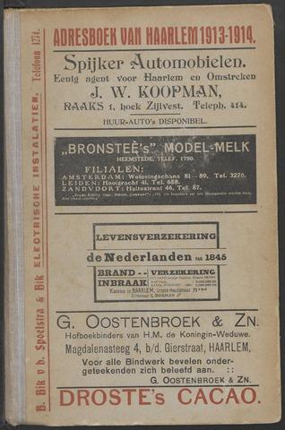Adresboeken Haarlem 1913