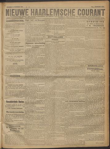 Nieuwe Haarlemsche Courant 1919-02-14