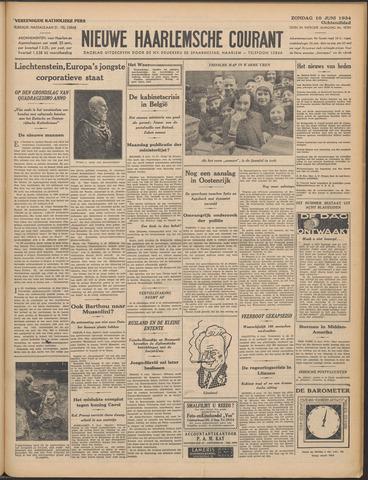 Nieuwe Haarlemsche Courant 1934-06-10