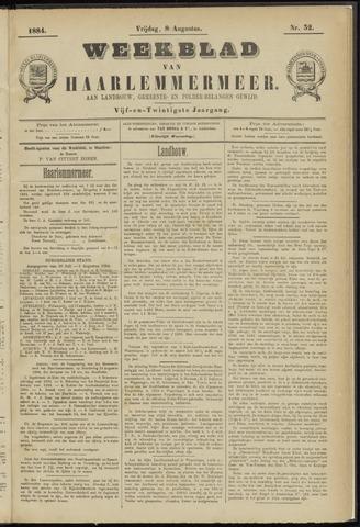 Weekblad van Haarlemmermeer 1884-08-08