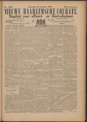 Nieuwe Haarlemsche Courant 1905-01-21