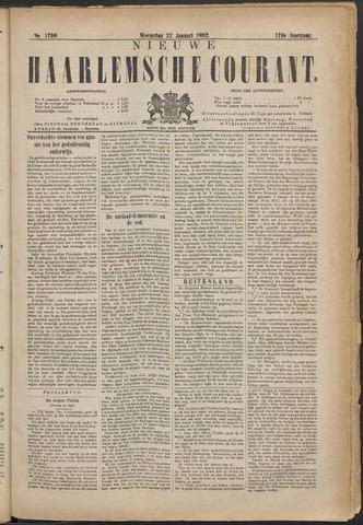 Nieuwe Haarlemsche Courant 1892-01-27