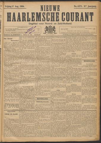 Nieuwe Haarlemsche Courant 1906-08-17