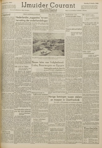 IJmuider Courant 1948-10-09