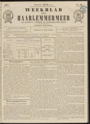 Weekblad van Haarlemmermeer 1867-03-22