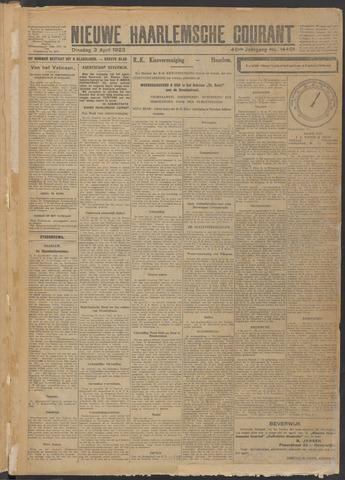 Nieuwe Haarlemsche Courant 1923-04-03