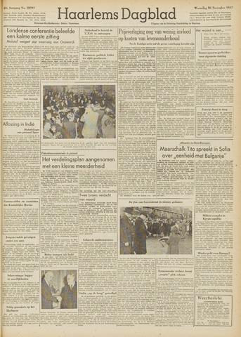 Haarlem's Dagblad 1947-11-26