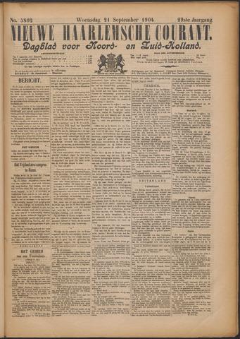 Nieuwe Haarlemsche Courant 1904-09-21