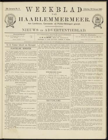Weekblad van Haarlemmermeer 1887-02-26