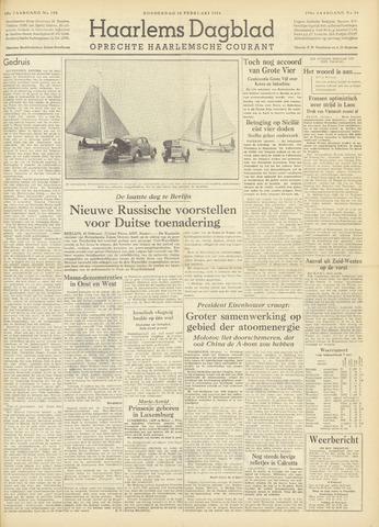 Haarlem's Dagblad 1954-02-18
