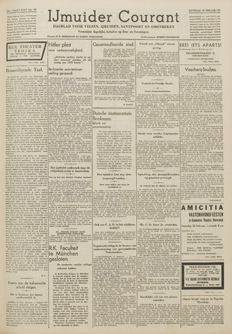 IJmuider Courant 1939-02-18