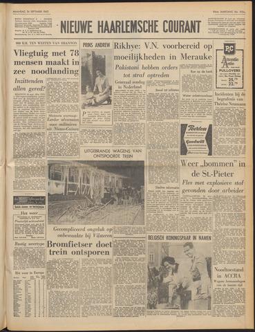 Nieuwe Haarlemsche Courant 1962-09-24