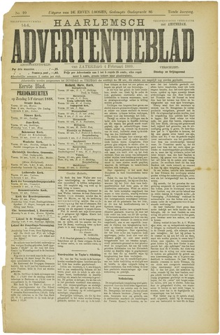 Haarlemsch Advertentieblad 1888-02-04