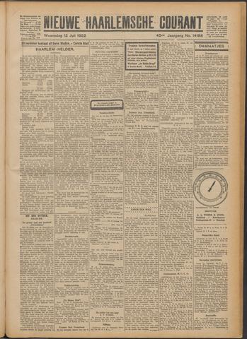 Nieuwe Haarlemsche Courant 1922-07-12