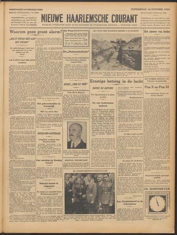 Nieuwe Haarlemsche Courant 1933-10-12