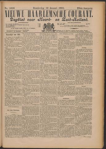 Nieuwe Haarlemsche Courant 1905-01-12