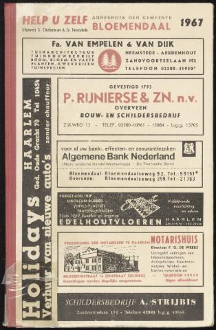 Adresboeken Bloemendaal 1967