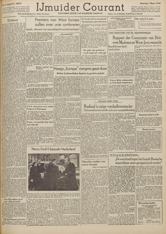 IJmuider Courant 1948-03-01
