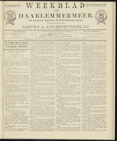Weekblad van Haarlemmermeer 1886-08-28