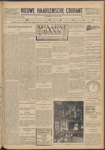 Nieuwe Haarlemsche Courant 1930-06-14