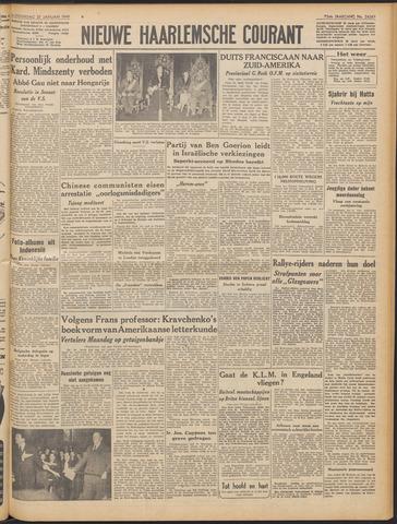 Nieuwe Haarlemsche Courant 1949-01-27