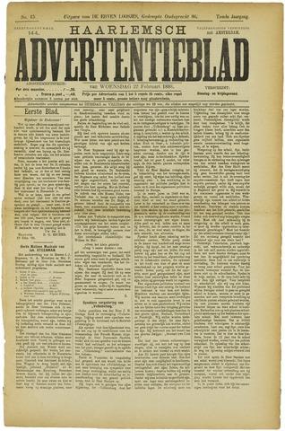 Haarlemsch Advertentieblad 1888-02-22