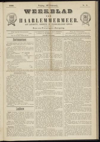 Weekblad van Haarlemmermeer 1880-02-27