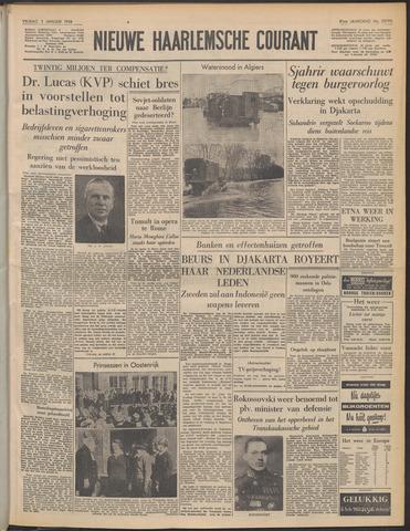 Nieuwe Haarlemsche Courant 1958-01-03