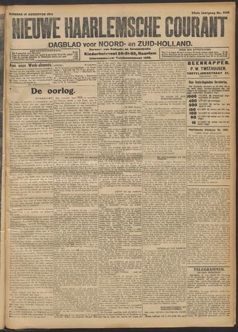 Nieuwe Haarlemsche Courant 1914-08-18