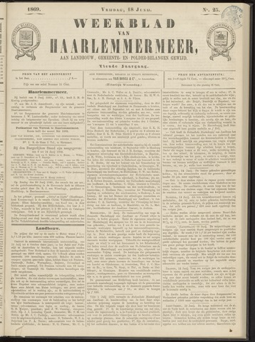 Weekblad van Haarlemmermeer 1869-06-18