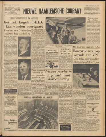 Nieuwe Haarlemsche Courant 1962-09-20