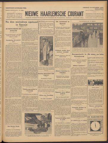 Nieuwe Haarlemsche Courant 1934-10-19