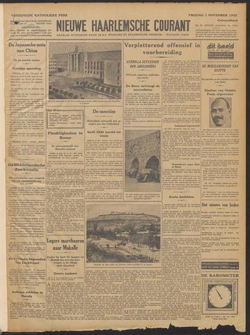 Nieuwe Haarlemsche Courant 1935-11-01