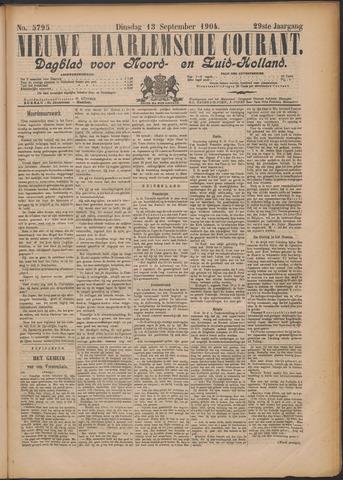 Nieuwe Haarlemsche Courant 1904-09-13
