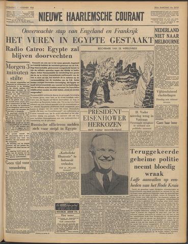 Nieuwe Haarlemsche Courant 1956-11-07