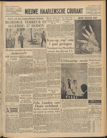 Nieuwe Haarlemsche Courant 1962-02-27