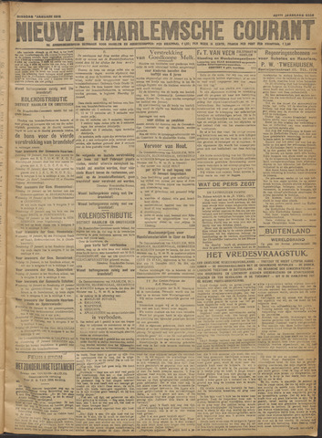 Nieuwe Haarlemsche Courant 1918-01-08