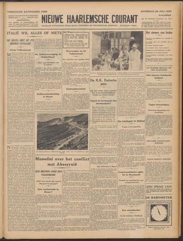 Nieuwe Haarlemsche Courant 1935-07-20