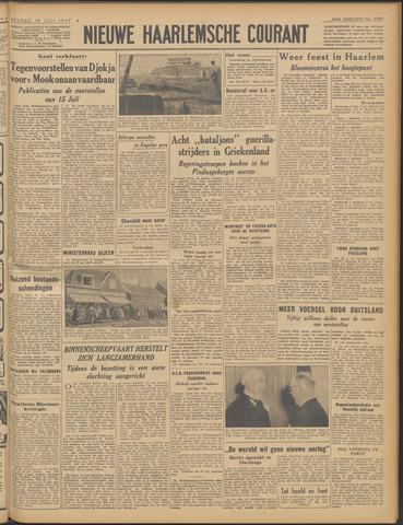 Nieuwe Haarlemsche Courant 1947-07-18