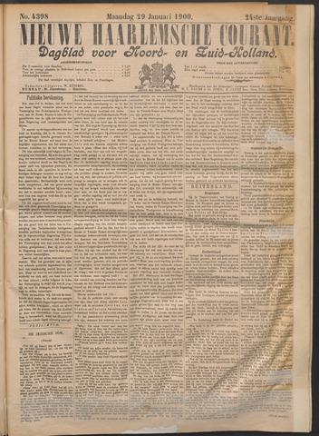 Nieuwe Haarlemsche Courant 1900-01-29