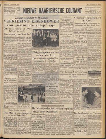 Nieuwe Haarlemsche Courant 1952-11-03