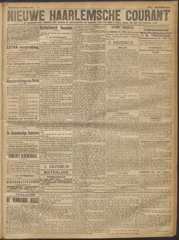 Nieuwe Haarlemsche Courant 1918-04-22