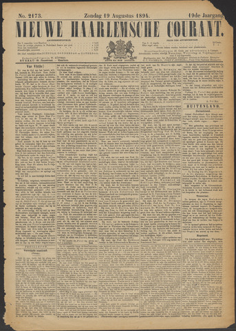 Nieuwe Haarlemsche Courant 1894-08-19