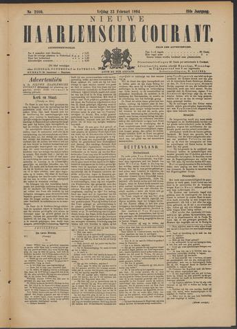 Nieuwe Haarlemsche Courant 1894-02-23
