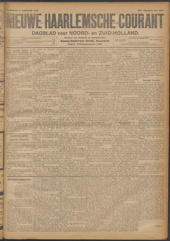 Nieuwe Haarlemsche Courant 1908-02-08