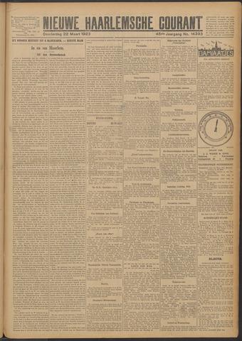 Nieuwe Haarlemsche Courant 1923-03-22