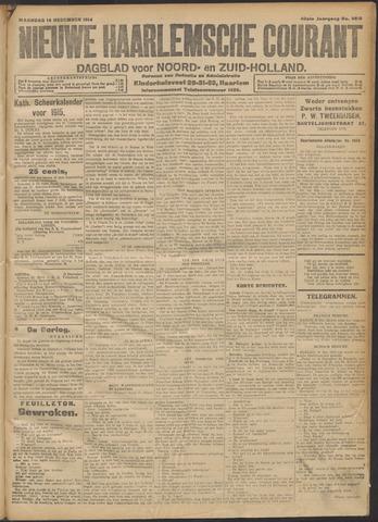 Nieuwe Haarlemsche Courant 1914-12-14