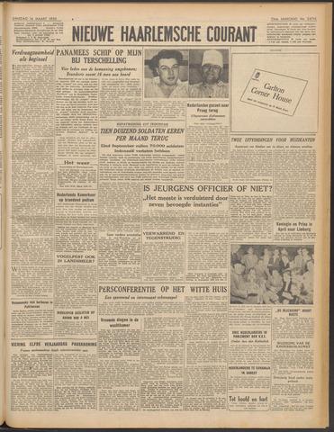 Nieuwe Haarlemsche Courant 1950-03-14
